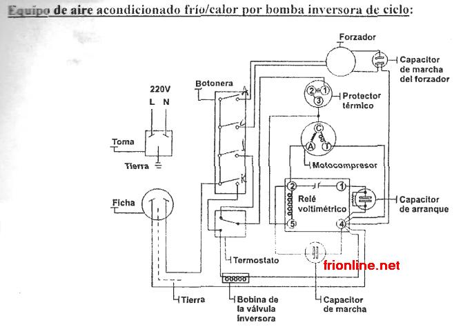 diagrama electrico de aire