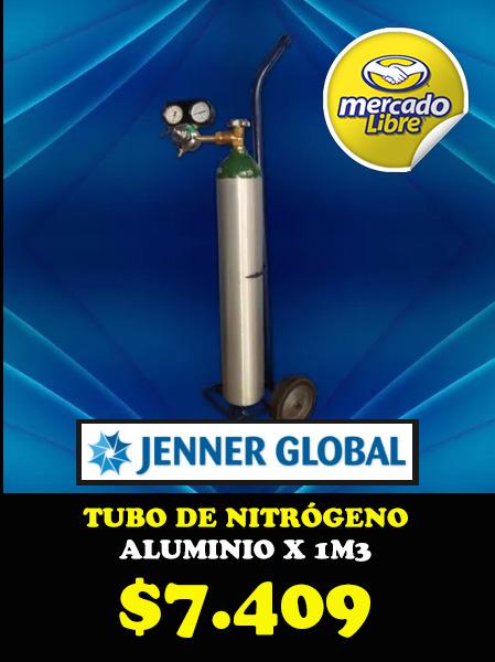 Tubo de nitrógeno aluminio 1m3